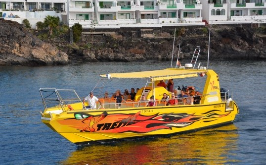 Isla de Lobos Tour Boot