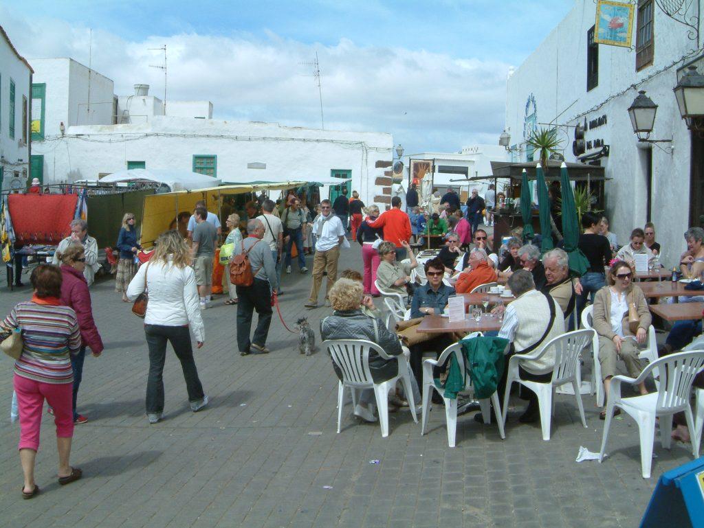 Teguise markt Ausflug Bars