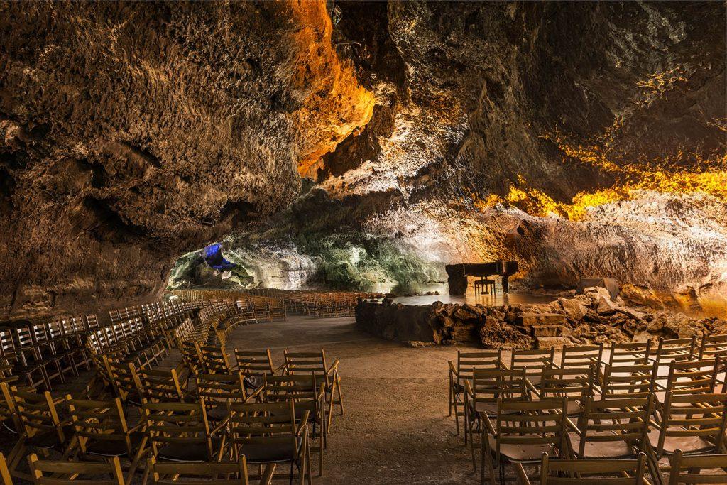 ein Höhepunkt auf Lanzarote: die Cueva de los Verdes