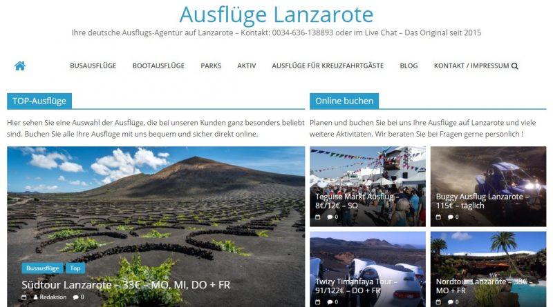 Lanzarote Ausflüge vor Ort buchen