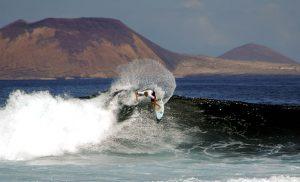 Lanzarote Aktivitäten surfen