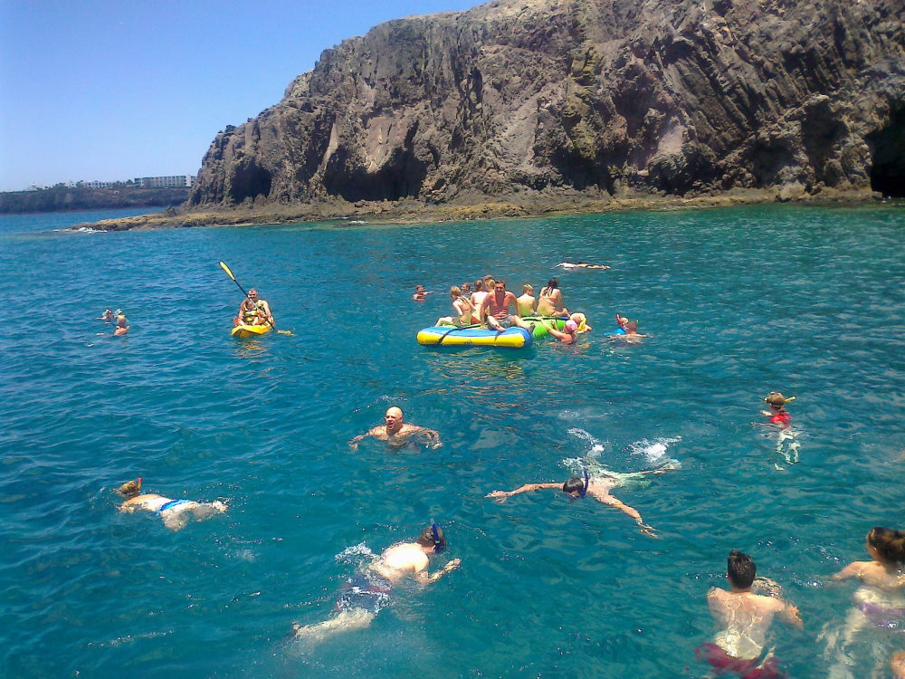 Papagayo Boottour mit Spaß