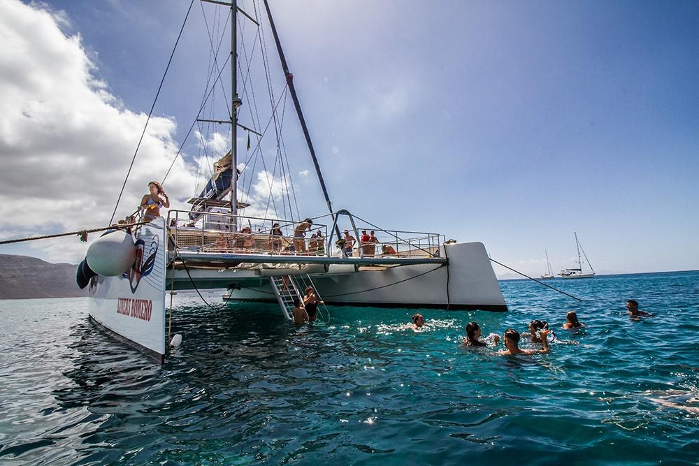 Angebot für Bootsausflüge auf Lanzarote - La Graciosa