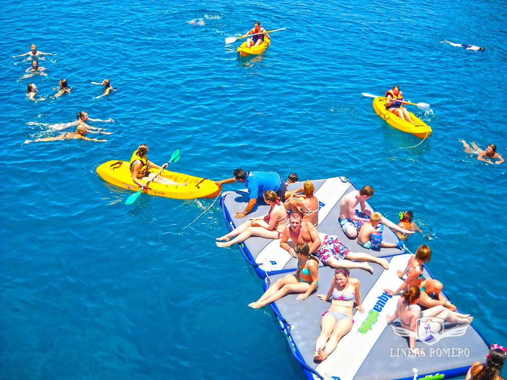 Lanzarote Ausfölüge für Familien: Badespaß beim Papagayo Stopp