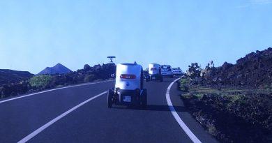 im Elektroauto zu den Vulkanen auf Lanzarote