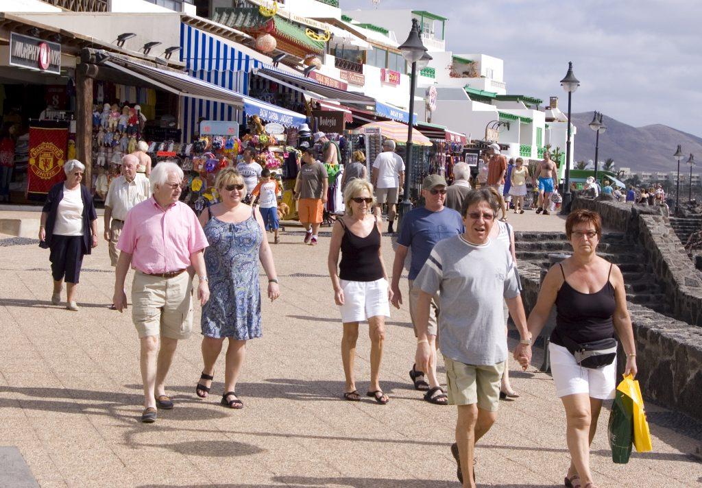 Playa Blanca Strandpromenade