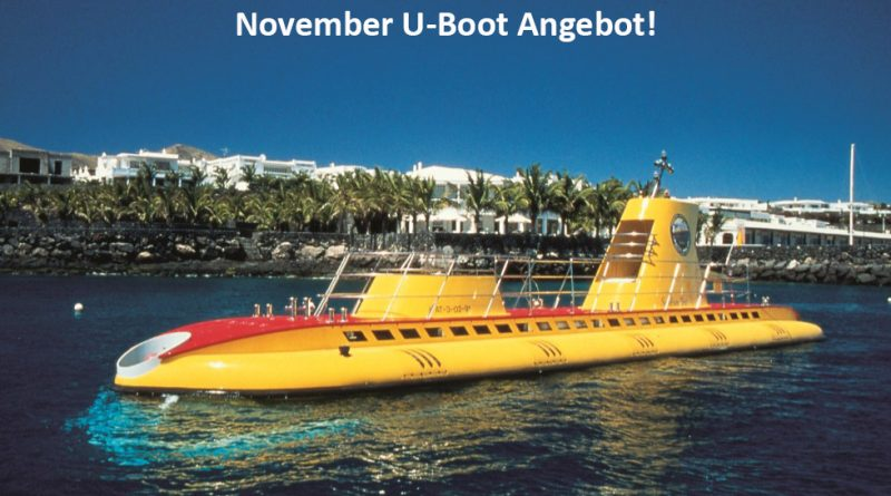November U-Boot Angebot