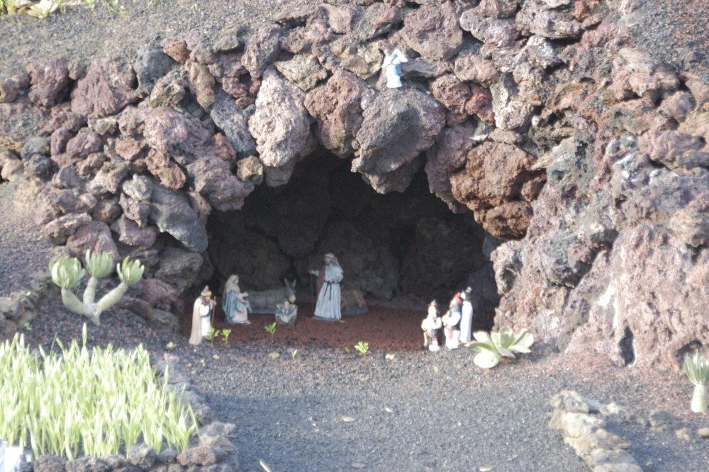 Weihnachten auf Lanzarote - Krippen