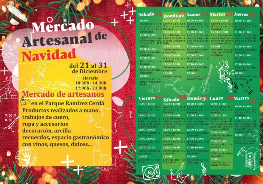 Weihnachtsmarkt in Arrecife