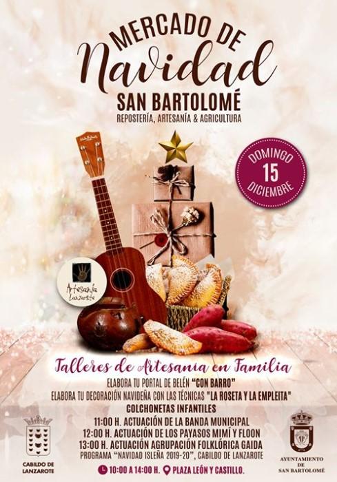 Weihnachtsmarkt San Bartolomé