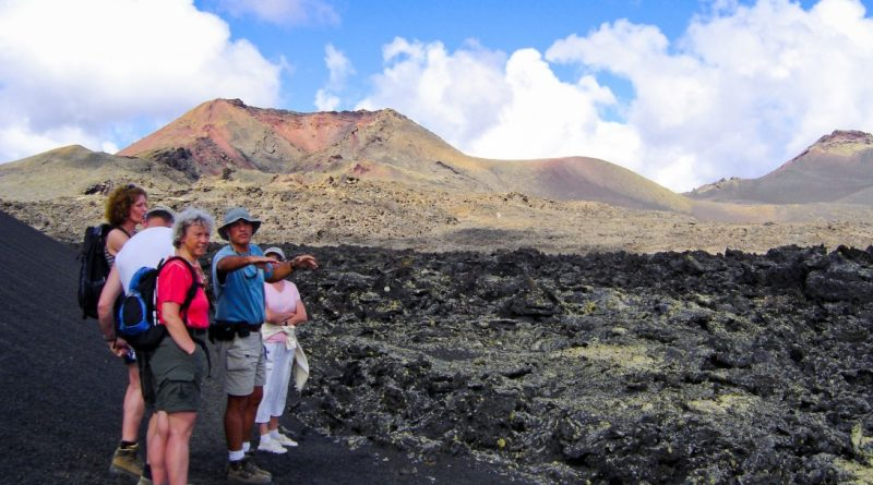 Vulkanwanderung Lanzarote