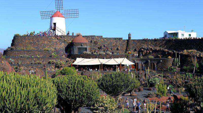 Der Kaktusgarten auf Lanzarote