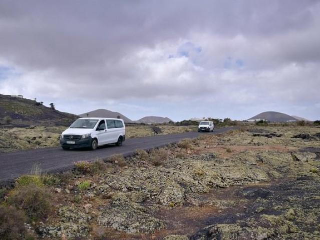 Gruppen Ausflug Lanzarote im Mini Van