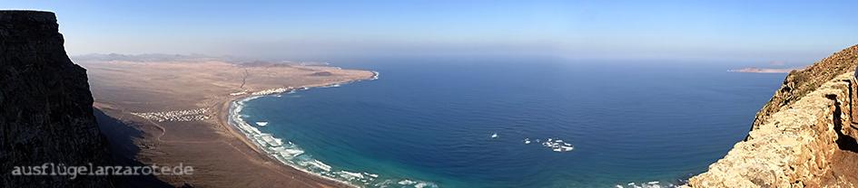 Wandern auf Lanzarote: Famara
