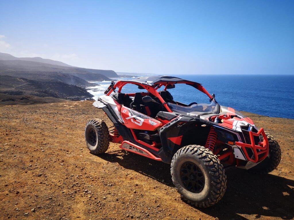 Maxi Buggy Lanzarote im Maverick X3