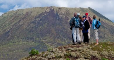 Wanderung Vulkankegel La Corona