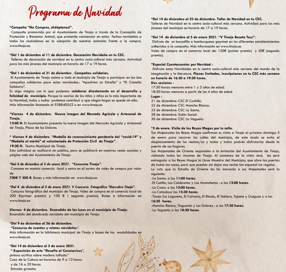 Weihnachten in Tinajo