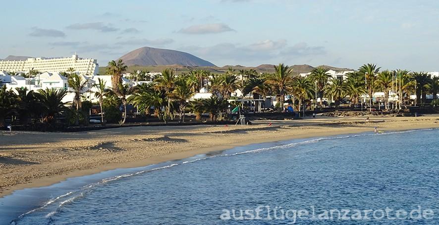 Strand Playa de las Cucharas