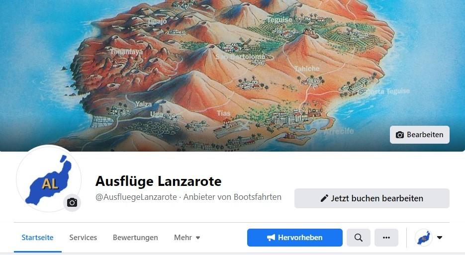 Ausflüge Lanzarote auf Facebook