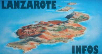 Informationen über Lanzarote