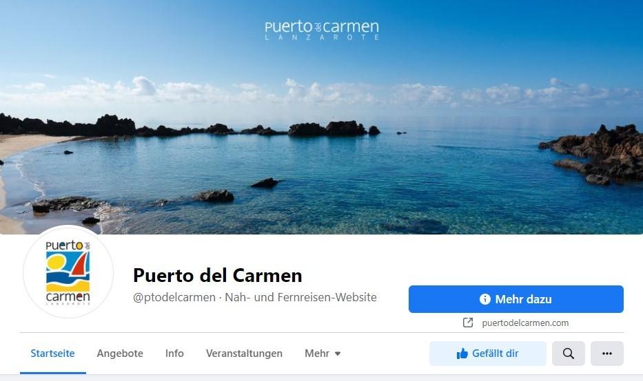 Puerto del Carmen Facebook