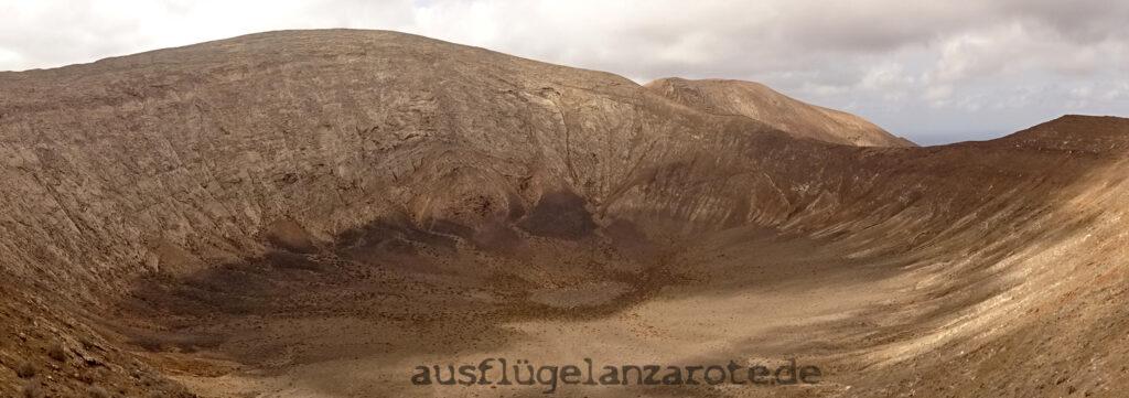 Vulkankrater Caldera Blanca