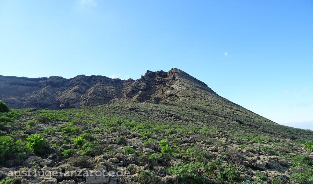 Der Monte Corona Lanzarote
