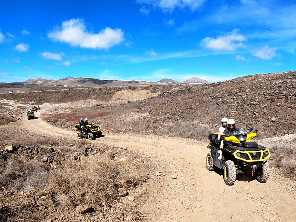Quad fahren auf Lanzarote