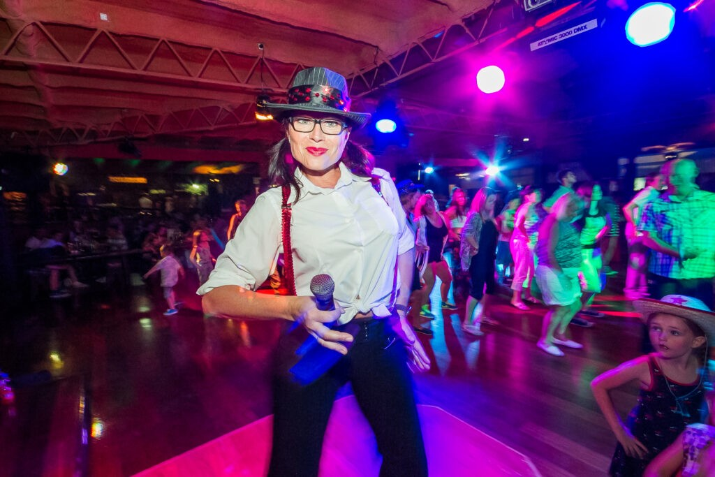 Calamity Jane bei der Country & Western Party