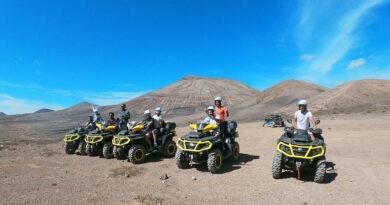 Quad Touren auf Lanzarote