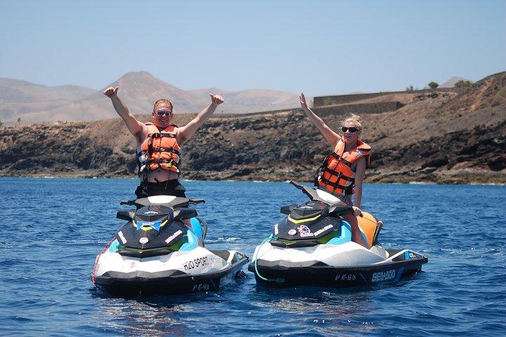 20 Minuten Jet Ski fahren auf Lanzarote