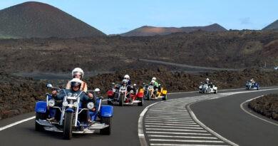 Trike fahren auf Lanzarote